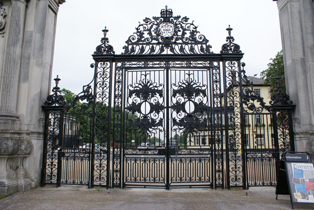 History Restoration Of Tijou Gates At Petworth House